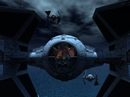 Tie Interceptor by Haruchai
