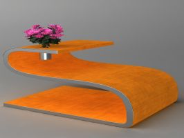 Coffeetable With Gadget by kratzdistel