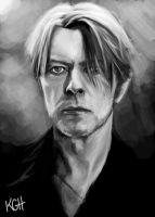 David Bowie by Artist-KGH