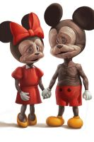Mickey and  Minnie by eksrey