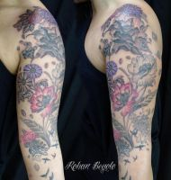 Flower Sleeve 1named by rohanrb