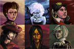 Younger Disney Villains 1 by Derelict-of-Eden