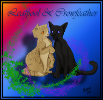 Leafpool X Crowfeather by TikamiHasMoved