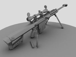 Barrett M107 Anti-Mat. Rifle by EagleEyeZ