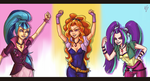 Dazzlings by Sherharon