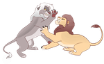 Fighting Lion Raffle - closed. - winners picked. by 100LionAsses
