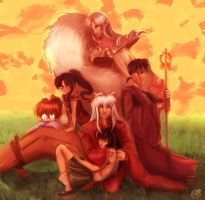 InuYasha Group by AstuteObservations