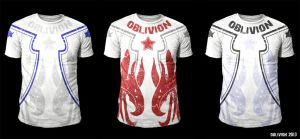 MMA Design - Oblivion Guardian (white) by Oblivion-design
