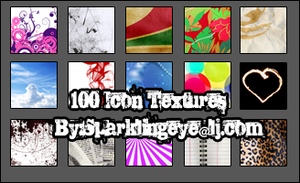 100 Icon Textures by sparkling-eye