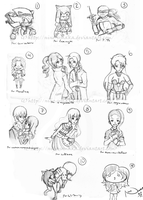 10 Free Sketches by Hey-its-Jess