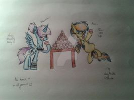 MLP FIM-Lady Drawing Milly and Pencil Whole Life by LadyDrawlingMillyyy