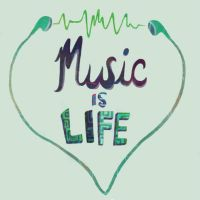 Music Is Life by Moonrisepower