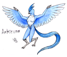 Articuno - colored by Chobaryu