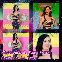 Photopack de Katy Perry by Camyloveonedirection