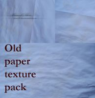 Old paper texture pack by Muse-of-Stock