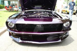 1968 Ford Mustang GT by JPLee