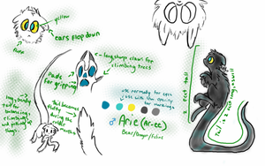 Arie's Reference Sheet by Insomnioid