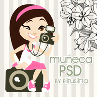 Munieca en PSD by Viqqitaa