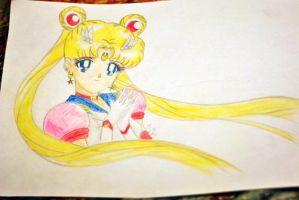 Eternal Sailor Moon by PsychedelicHeroin
