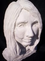 Meaghan bust by ValyGrlVentriloquist
