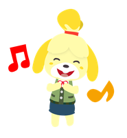 Isabelle (Animal Crossing) Vector by Paradox550