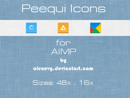 Peequi Icons for AIMP by AlexEVG