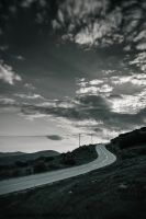 Road to nowhere by Catherine-Di