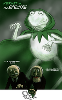 TLIID Muppets mash-up - Kermit as The Spectre by Nick-Perks