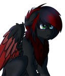 edgy birb hors by AbsoluteCactus