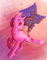 Twilight sings by Spanish-Scoot