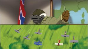 SkyKid strip 19 + 20  snippets by theCHAMBA