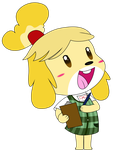 Animal Crossing New Leaf: Isabelle by Amana07