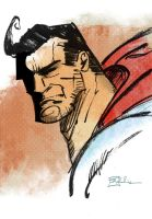 DSC Superman by CartoonCaveman