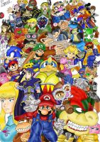 Smash Brothers Brawl Fanart by Pepowned