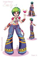 Emily: Chara Design - PART II by Mako-Fufu