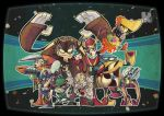Dr.wily and his Robotmasters by Gashi-gashi