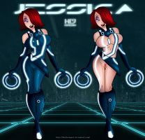 Tron.Jessica- Comission by HD-2