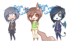 Adoptables (SOLD) by NoNonchalance