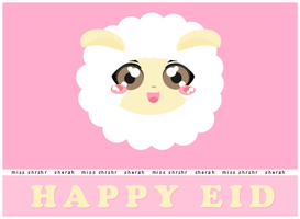 happy eid by miss-shrshr