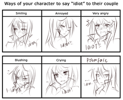 Meme: THE WAY SCARLET SAYS IDIOT by na-Miey