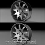 Free 9 Spoke 4 Hub Wheel! by ragingpixels