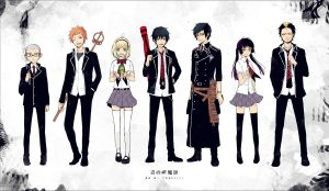 ao no exorcist by luciia-chan