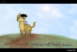 Winter will finish soon.. by Imalou