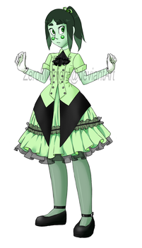 Diopside dress-up by ZeroMidnight