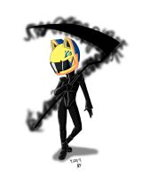 Celty chibi by feerl