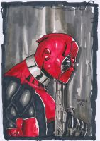 Deadpool Portrait by Arddy24