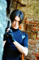 Leon Kennedy policeman of RPD by SleepingLeonhart