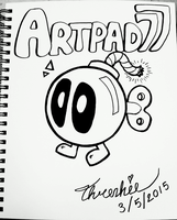 Artpad77 Intro Page by Threshie