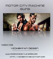 The Motor City Machineguns by y2jhbkfan