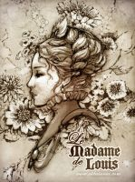 "Portrait 2. ""Le Madame"" by lely"